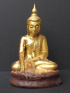 Antique Buddha Wooden Burma Set