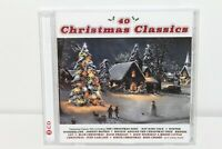 Acrobat Music 40 Christmas Classics (2 CDs) *Ships from USA* Free Shipping