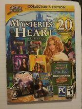 Mysteries Of The Heart Collection 20 PC  Games, echoes of sorrow II  FREE shippi