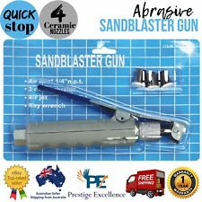 New Abrasive Sandblaster Gun Sandblasting Rust Paint Corrosion Removal Handheld