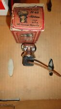 NOS VICTOR No.45 RED 7 WHITE JEWEL PARKING LAMP LIGHT