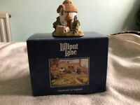 Lilliput Lane -Thimble Cottage - 1995/1996 - L0765 - incl Box, with Deeds