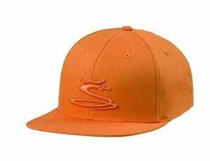 Cobra Tour Snake Snapback Golf Cap Hat - 909274 - One Size - Vibrant Orange