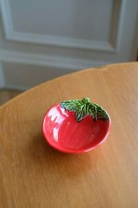 BORDALLO PINHEIRO Red Tomato Dish Bowl