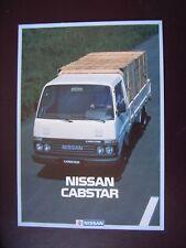Nissan cabstar folleto/brochure/depliant, DK