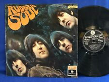 THE BEATLES RUBBER SOUL PMCQ 31509 STEREO ORIGINAL ITALY LP EXC+
