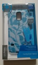 Speck CandyShell Inked Case Samsung Galaxy S5 - WallFlowers Blue / Atlantic Blue