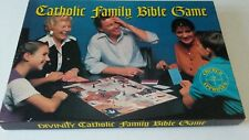 Vintage Divinity Catholic Family Bible Board Game USED