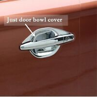 For Mitsubishi Outlander 2013-2015 Chrome Side Door Handle Bowl Cup Cover Trim