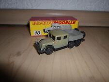 DDR ESPEWE Modelle 18 Tatra - Zugwagen T 141 OVP 1:87 H0