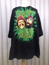 Cheech & Chong T Shirt 3 XL Black Best Buds stick together from Up in Smoke