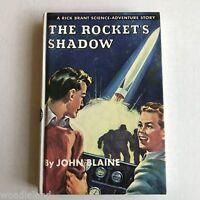 Rick Brant 1 The Rockets Shadow Boys Series Adventure Fine Condition