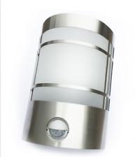 LED Edelstahl Aussenleuchte Aussenlampe Wandleuchte Lampe mit IR Bewegungsmelder