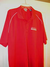 SHIRT TOYOTA GENUINE PARTS JOCKEY RED EMBROIDERED LOGO 2XL 100% POLYESTER UNUSED
