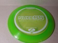Vintage Nuke Ss 165g green Z Discraft Prime Disc Golf