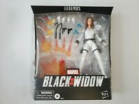 "Hasbro Marvel Legends Series Deluxe Black Widow 6"" MCU White movie figure NEW"