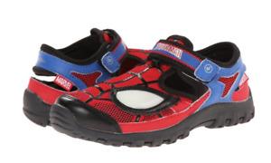 MARVEL by StrideRite, Spider Man Light Up Toddler Shoes, Red, Size Variation