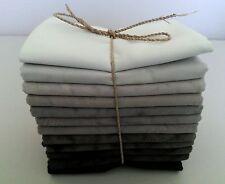 Batik Fat Quarters - 45 x 55 cm *** 12 Per Pack *** Free AU Post - Midnight Mix