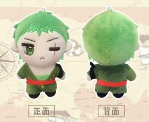 One Piece Zoro Doll Plush Toys Keychain Wallet Keyring Bag Gift Limited 12cm N
