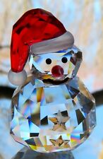 SWAROVSKI CHRISTMAS Rocking Snowman Figurine Mint and NEW IN BOX