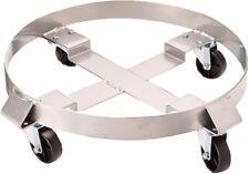 Drum Dolly 5044 Gallon 4 Wheel Swivel Casters Heavy Steel Frame Easy Roll 1000