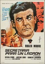 SAINT - The FICTION MAKERS one sheet Spanish movie poster ROGER MOORE 1969