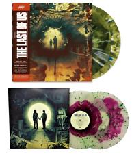 The Last Of Us Soundtrack Volume 1 2 Exclusive Bundle Pack Splatter Vinyl 4xLP