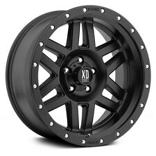 "20 Inch Wheels Rims Black Jeep Wrangler JK XD Series XD128 5x5 20x9"" SINGLE 1"
