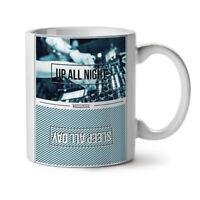 Party Life NEW White Tea Coffee Mug 11 oz   Wellcoda