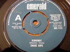 """Snake Hips - Runaway 7"""" Vinyl Demo"""