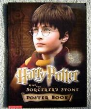 Harry Potter The Sorcerer's Stone Poster Book ~ 2001 NM