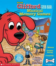 SCHOLASTIC Clifford Musical Memory Games  logic & early math skills  New in Box