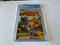 FANTASTIC FOUR 142 CGC 9.8 WHITE PAGES 1ST APPEARANCE DARKOTH MARVEL COMICS 1974
