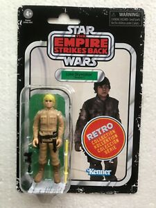 AUTHENTIC HASBRO RETRO COLLECTION LUKE BESPIN GUISE MINT ON CARD SEALED REISSUE