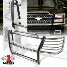 Stainless Steel Grille/Brush/Headlight Guard for 03-07 Silverado 1500 HD/2500