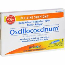 BOIRON Oscillococcinum Natural Flu Relief,Original,Made in France-6 doses
