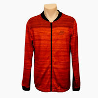 Nike Full Zip Sweater Jacket (Men's Size M) Red Black