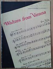 Waltzes From Vienna programme Harrow Light Opera Company April 1972