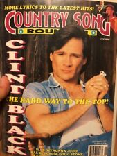 Country Song Roundup Magazine November 1992 Clint Black