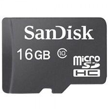 Sandisk Micro SD 16 GBMicroSDHC SpeicherkarteClass 10
