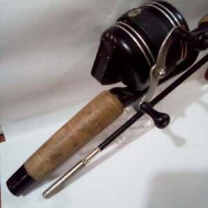 Vintage Zebco 606 combo on possibly the original rod -estate find