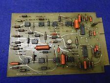 Monarch Machine Tool Printed Circuit Board Assy # 50304