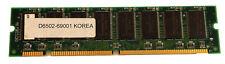 HP PC100 SDRAM ECC DIMM 64MB Memory D6502-69001