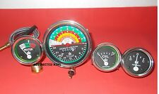 IH Farmall 300 350 Gas/ Utility (Tachometer+Temp+Oil Pressure+ Ampere Gauge Set)