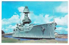 BATTLESHIP TEXAS  POSTCARD