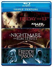 FRIDAY THE 13TH / FREDDY VS JASON / ELM STREET -  Blu Ray - Sealed Region free