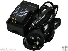 2x DB-60 DB-65 Battery+Charger Ricoh G600 G700 Wg-M1 GR Digital II III IV GX200