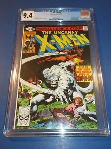 Uncanny X-men #140 Byrne Bronze age Wolverine CGC 9.4 NM Beauty Wow