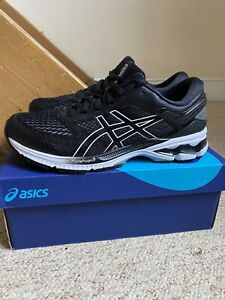 Men's ASICS Gel Kayano 26 Trainers/Shoes Black UK Sz. 8