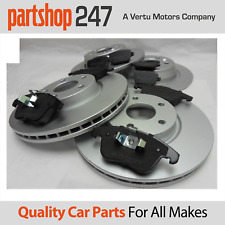 Genuine Comline Front & Rear Brake Coated Discs and Pads Ford Mondeo mk4 07-14